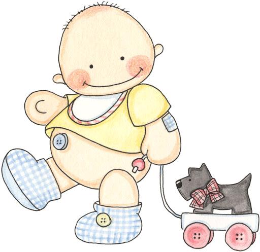 Imagenes de bebes para baby shower beb pinterest - Dibujos pared bebe ...
