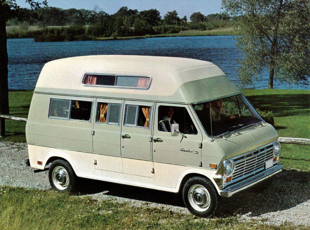 1968 Ford E300 Econoline Camper Van Авто