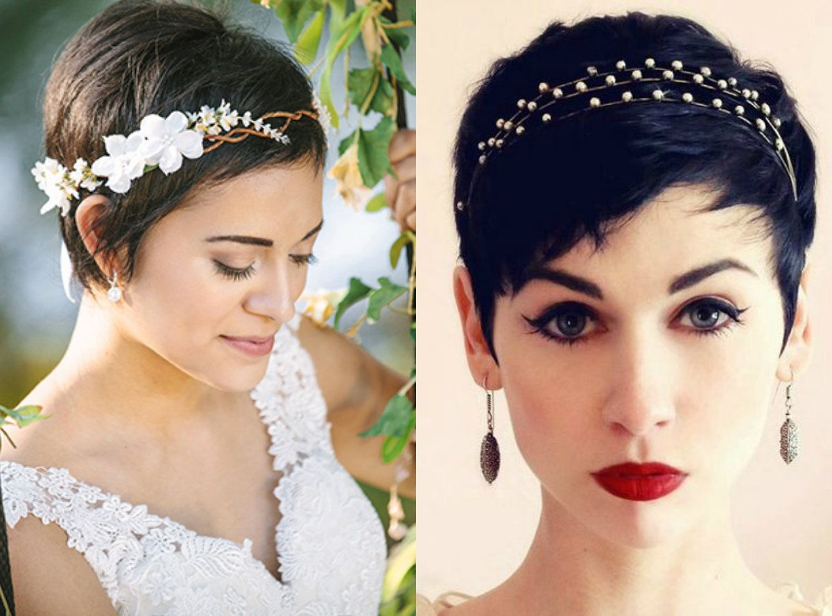 Kurze Pixie Hochzeit Frisuren Inspirieren Alle Bräute