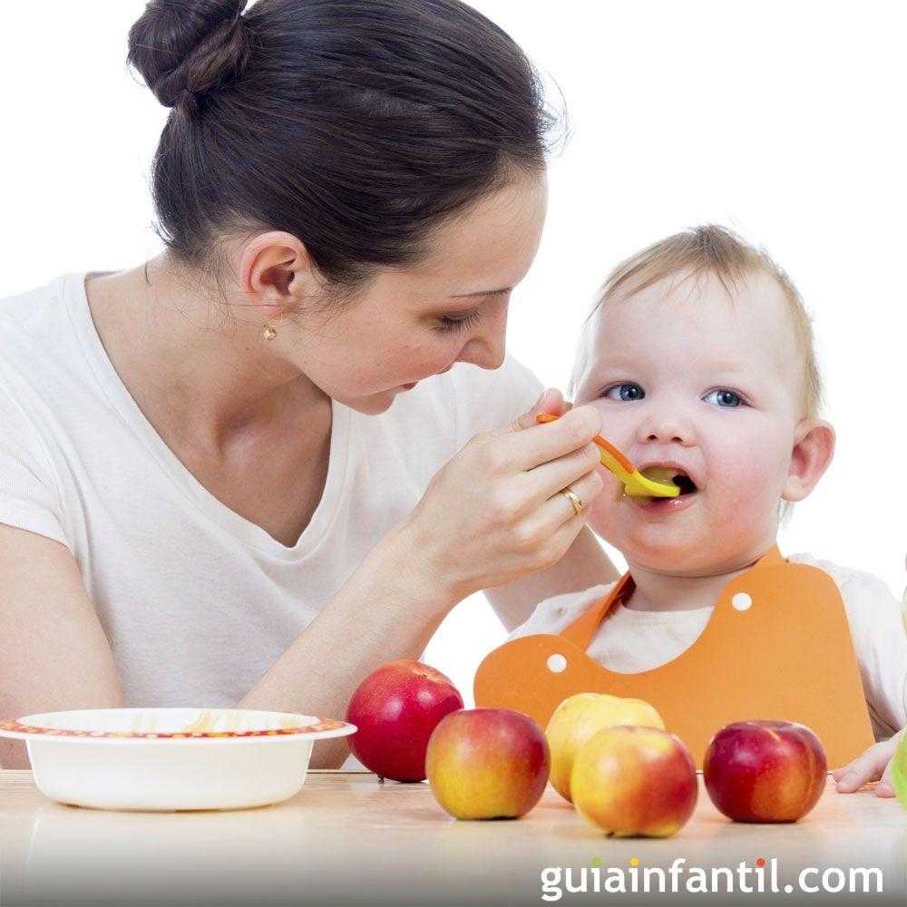 Los beb s pueden comenzar a tomar papillas de frutas a - Comidas para bebes de 5 a 6 meses ...