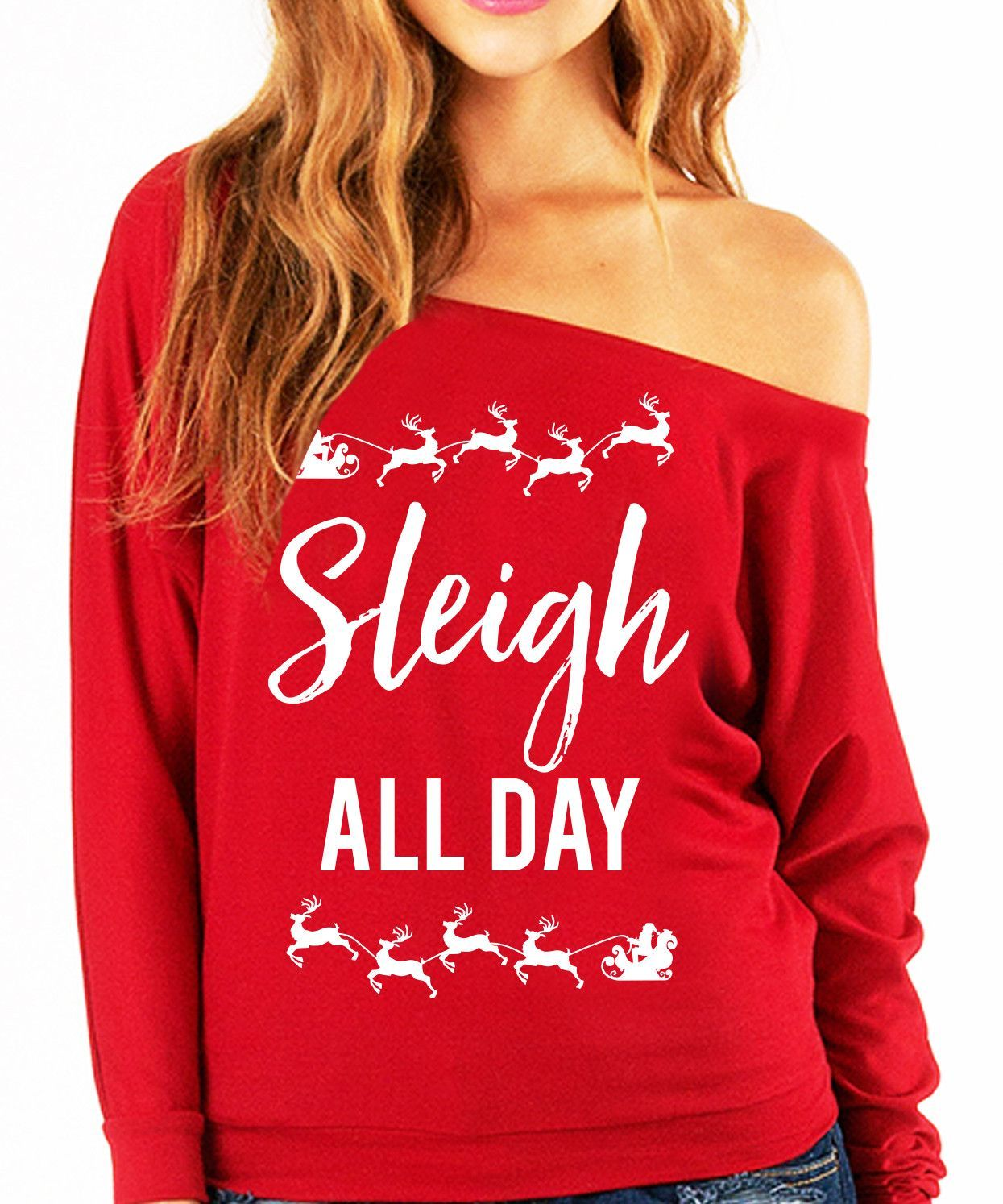 53bf8b8f641 Slay at those Ugly  CHRISTMAS Sweater Parties! By NoBull Woman Apparel.