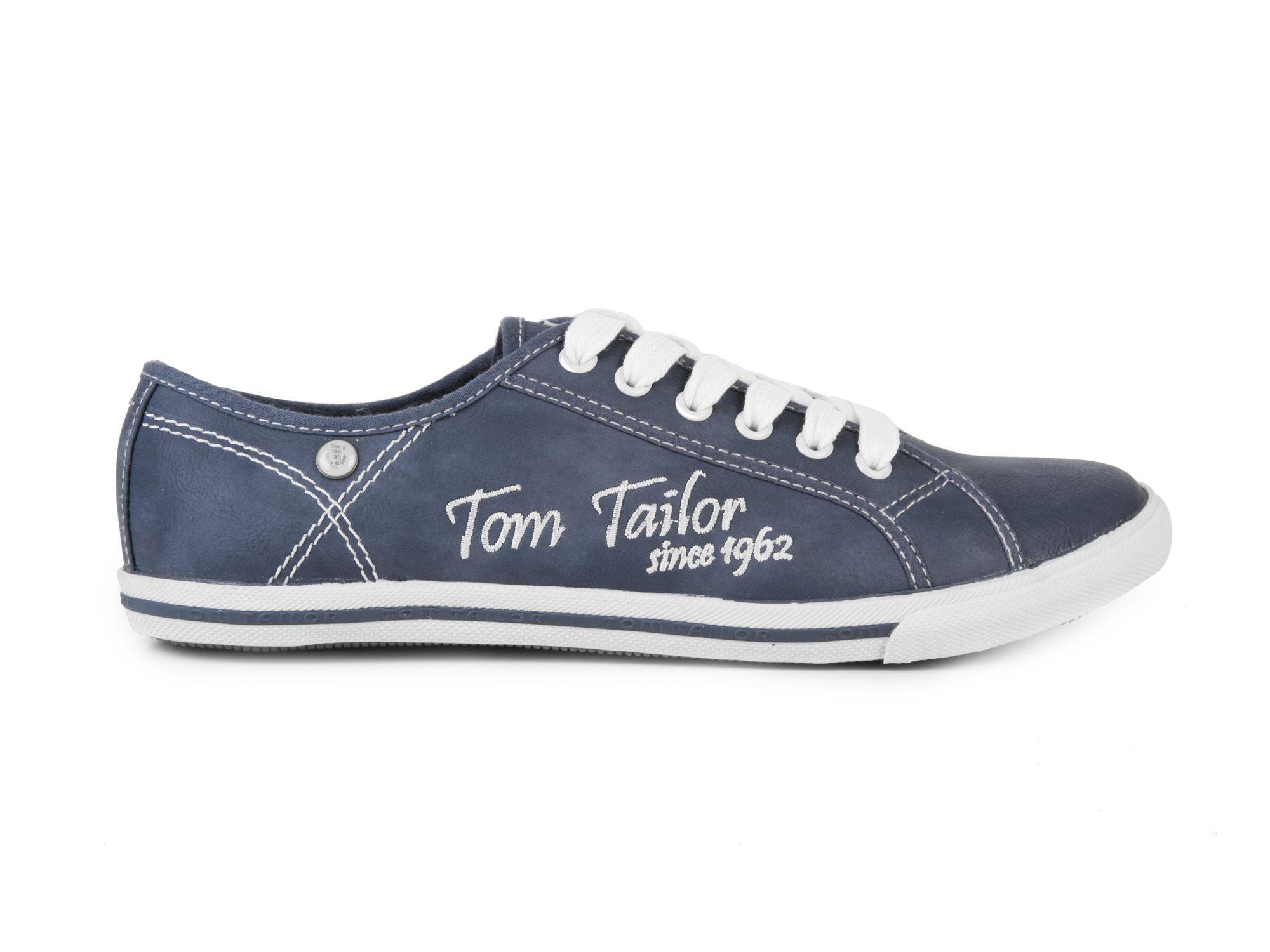 f6af51f2089 Tom Tailor Dámské módní tenisky Catania   modrá