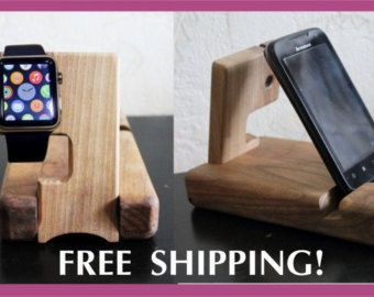 gift for men charging station Docking Stations by artWoodworking
