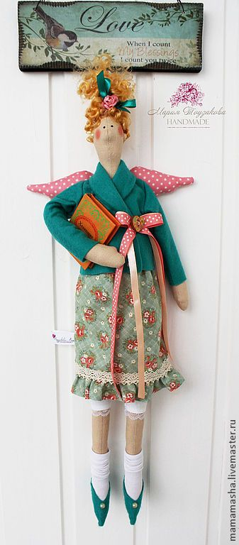 Купить Тильда-хозяюшка! - салатовый, тильда, кукла Тильда, фея, фея домашнего уюта, хозяюшка