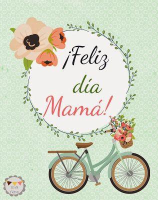 Tarjetas para #DíadelasMadres imprimibles! En el blog de So Hip Fiestas: Sorteo: Mini-Candy Buffet para ¡Mamá!