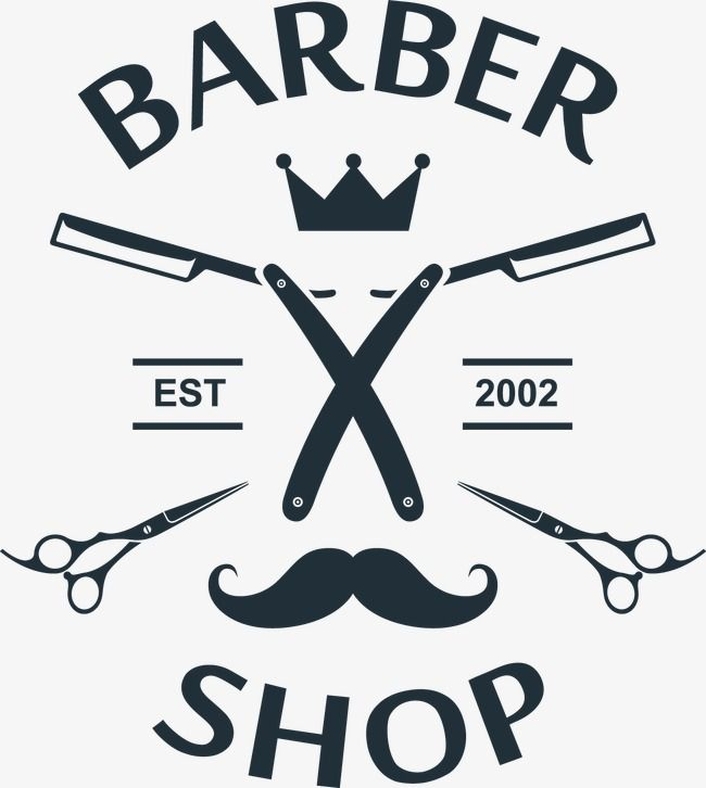 Simple Elements Barber Shop Simple Decoration Vector Png Transparent Clipart Image And Psd File For Free Download Clip Art Barber Elements
