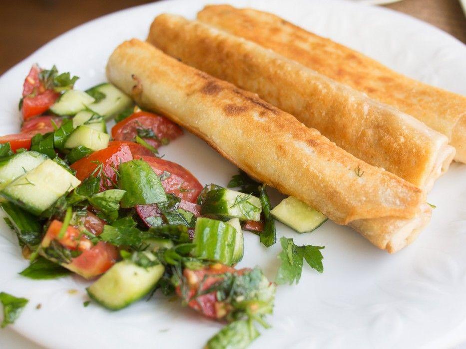 Sigara Böreği: vegetarian food in Turkey!!