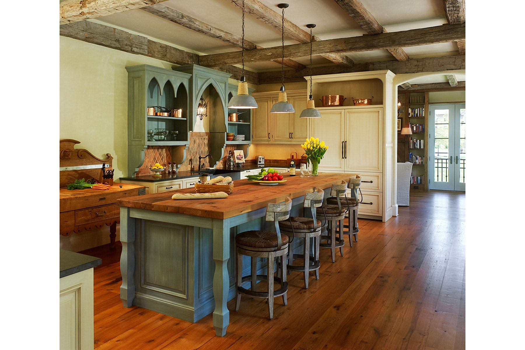 French country kitchen favorite places u spaces pinterest