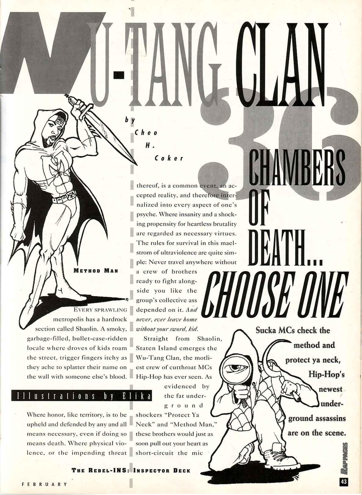 36 chambers of death choose one wu tang in rap pages 1994 choose one wu tang in rap pages 1994 pooptronica