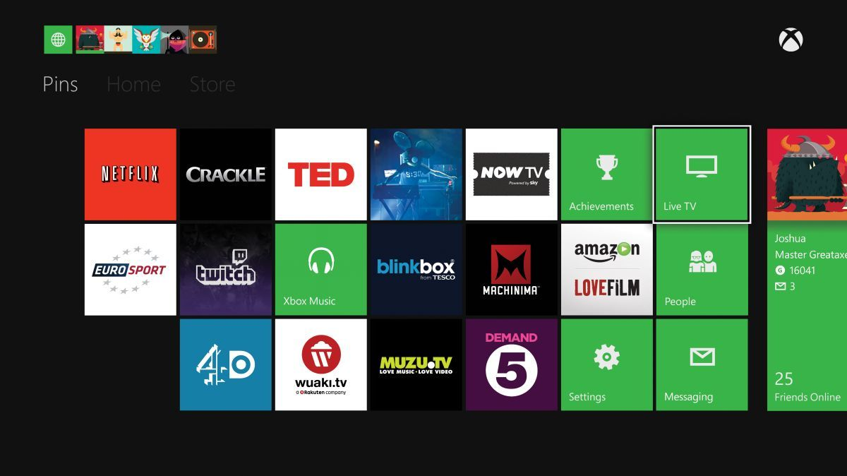 First set of Xbox One TV and entertainment apps announced