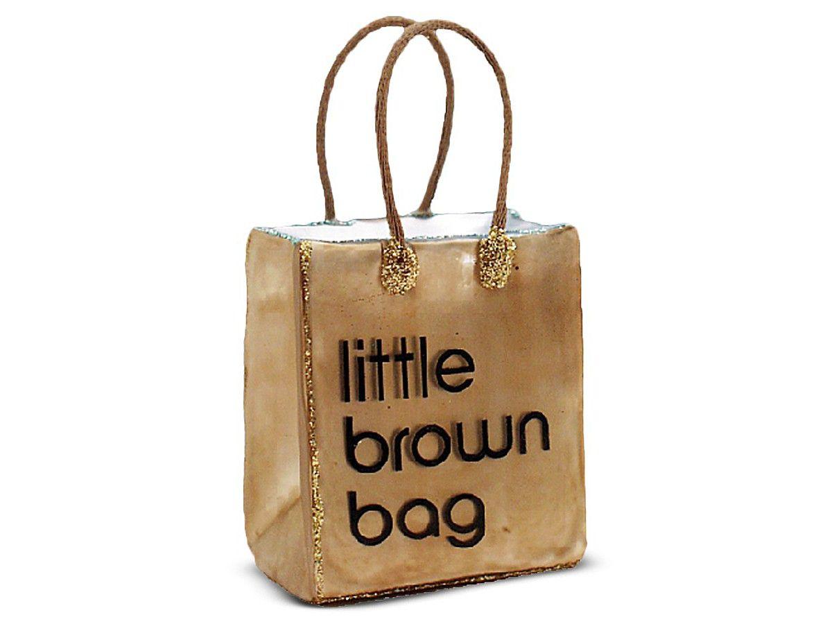 Little Brown Bag Ornament By Bloomingdale S