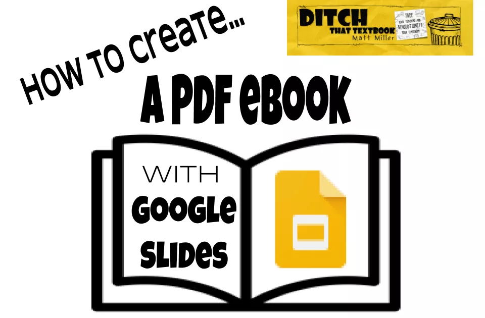 How to create a PDF ebook with Google Slides Google