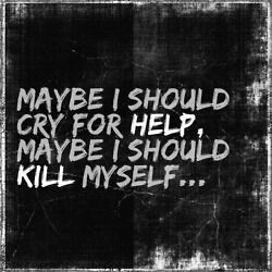 deciding to kill yourself