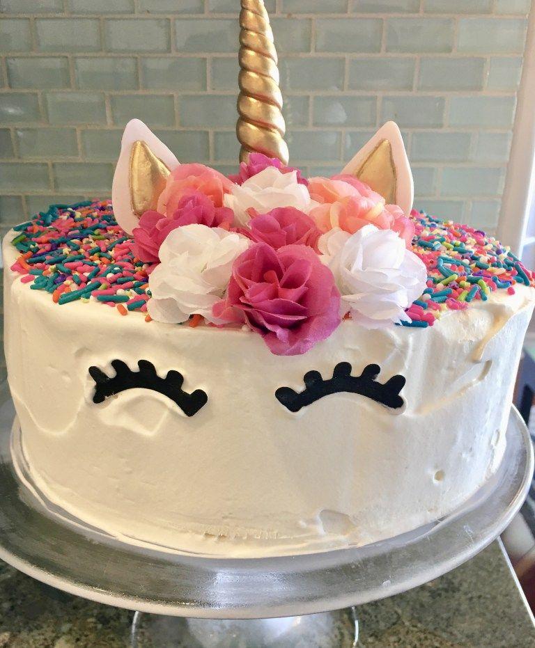 Ice Cream Cake With Fudge And Oreos Recipe Easy Unicorn Cake