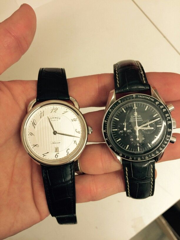 Omega Speedmaster Moonwatch VS Hermès Arceau Manufacture