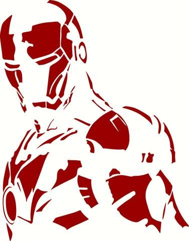 Iron Man Side View Wall Decor Vinyl Decal Graphic Choose Your Color And Size Art Superhero Art Quote Art Diy