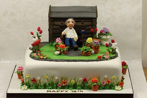 Garden Cake Garden Birthday Cake Garden Cakes Dad Birthday Cakes
