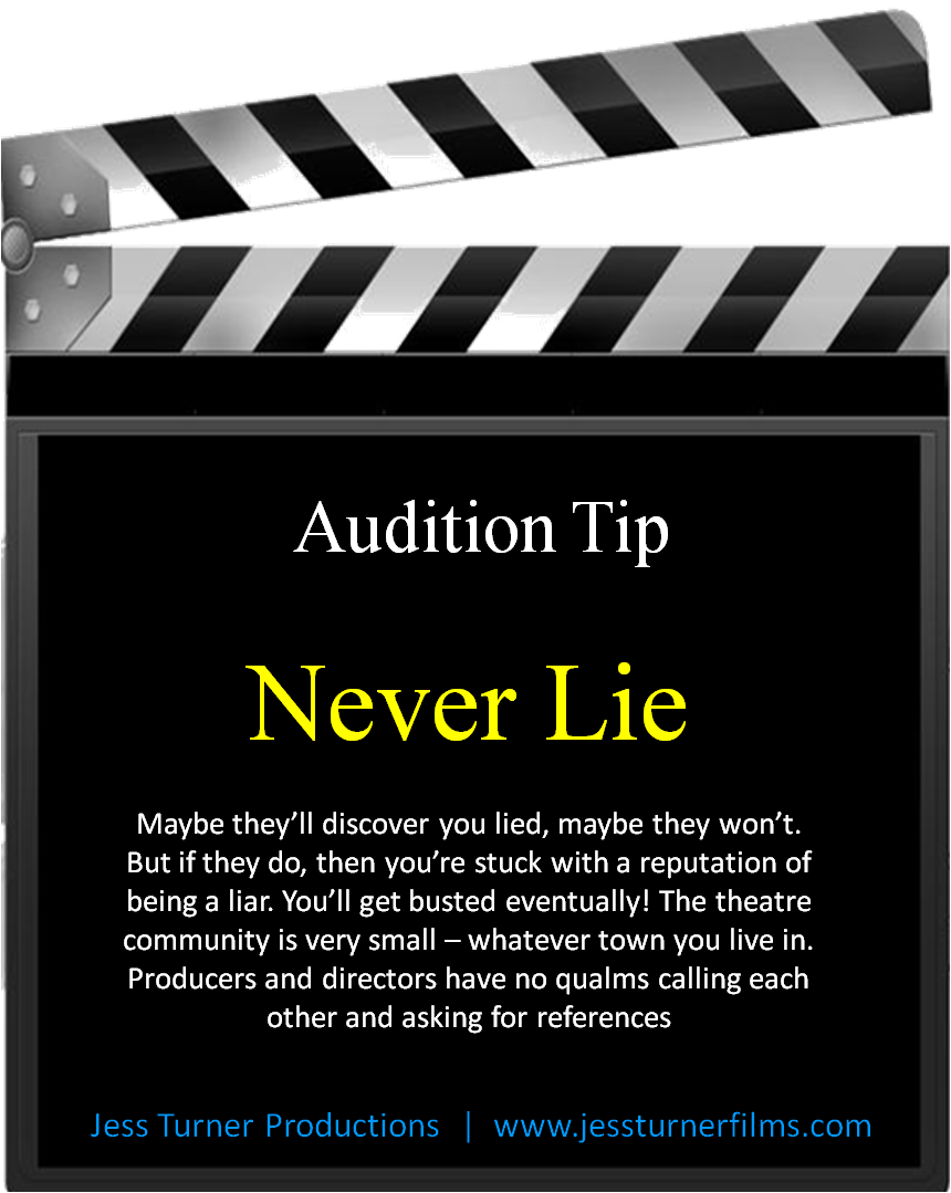Follow us on facebook for actor quotes and audition tips