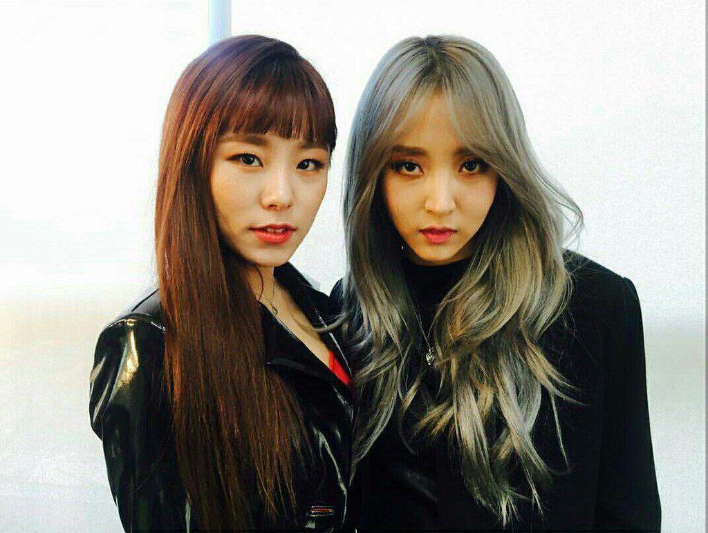 92 And You Moon Byulyi X Kim Seokjin Completed Mamamoo Hair Beauty Beauty
