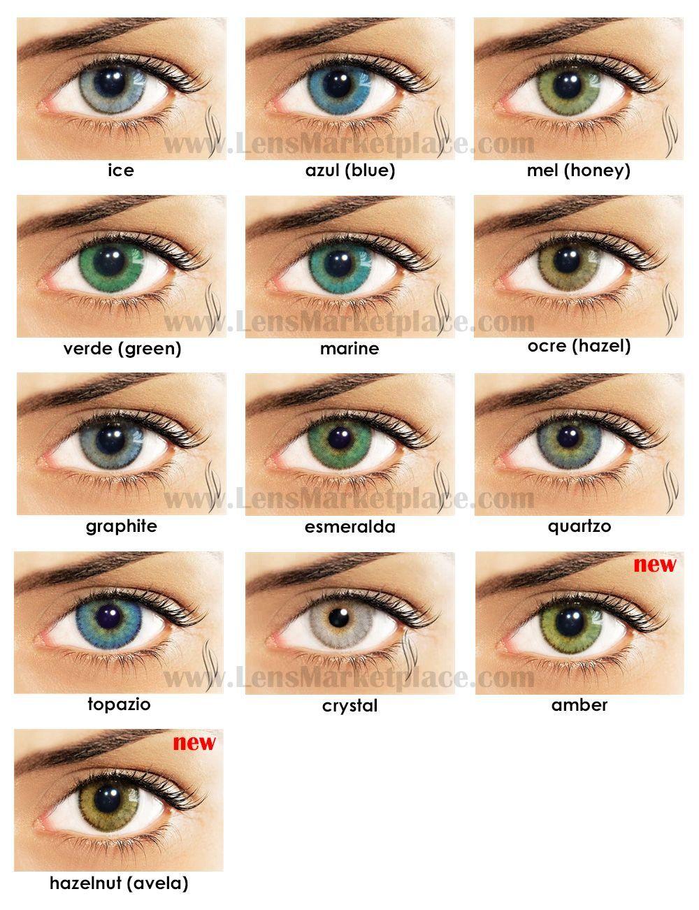 Solotica Natural Colors Color Contact Lenses Natural