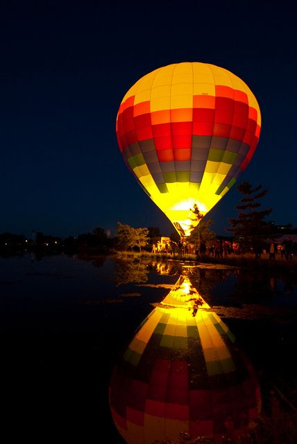 ride in a hot air baloon,  Go To www.likegossip.com to get more Gossip News!
