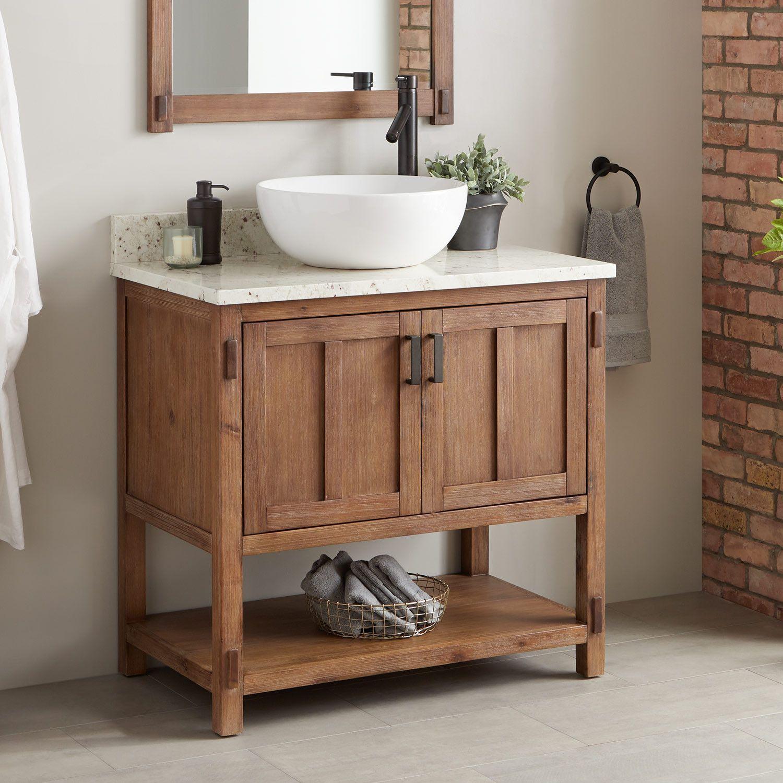 36 Morris Console Vessel Sink Vanity Single Bathroom Vanity