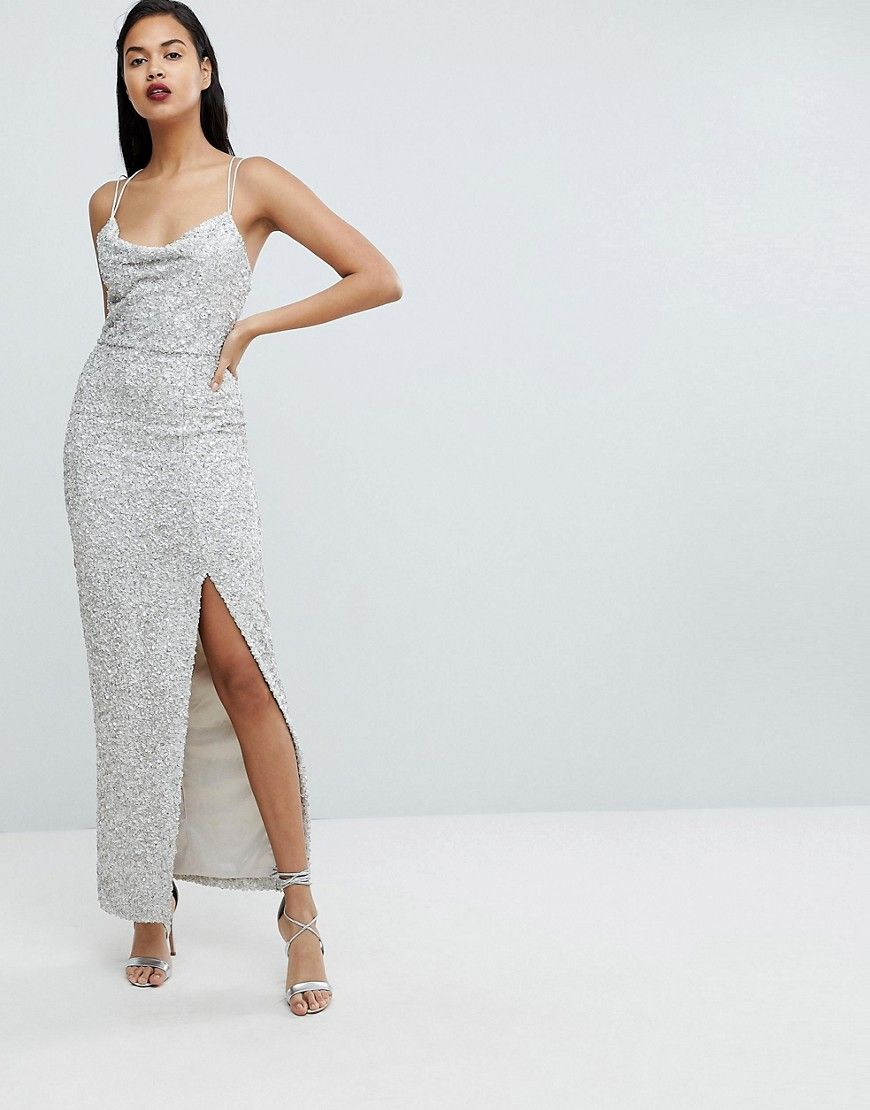 22df7f7538 Forever New Allover Sequin Maxi Gown - Multi | Dream Dresses in 2019 ...