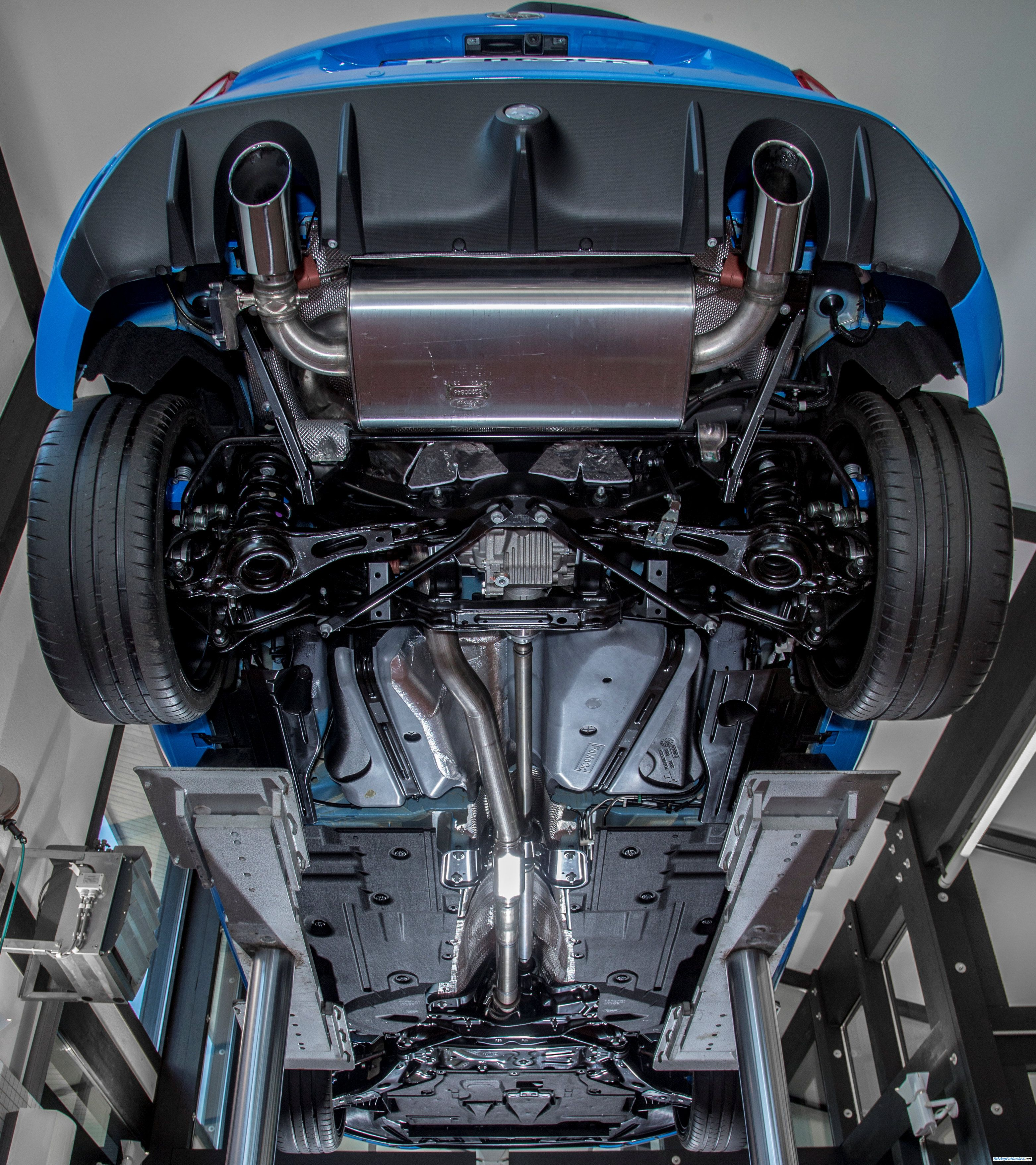 2016 Ford Focus Rs Underside Details In High Res Ford Focus Rs Ford Focus Focus Rs