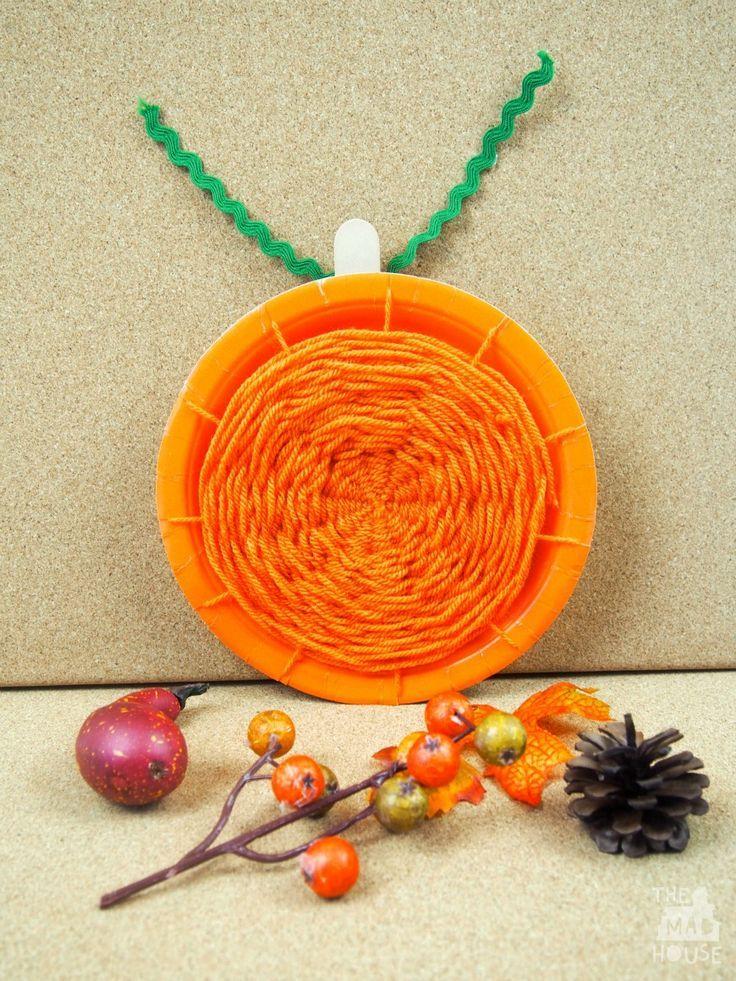 18++ Paper plate pumpkin arts and crafts info