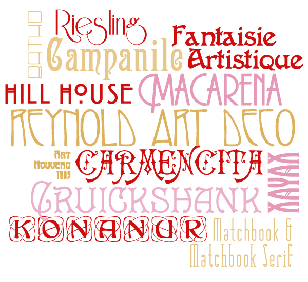 Art deco fonts | Art deco font. Word fonts. Typography fonts