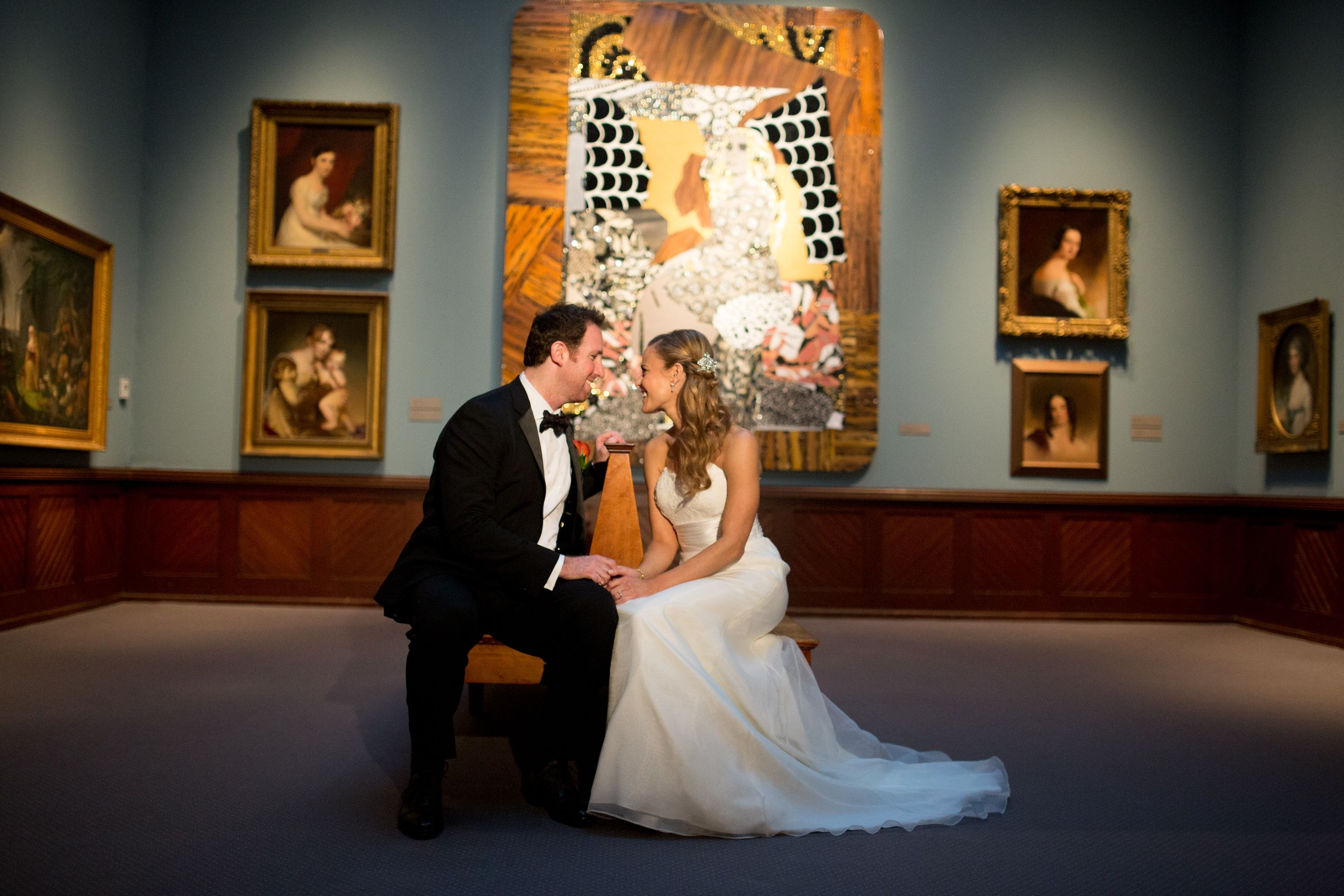 A Formal Wedding at the Philadelphia Academy of Fine Arts in ...