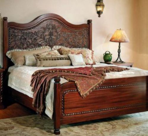 Superior Flor Sylvestre King Bed: Southwest Furniture, Santa Fe Style: Southwest  Spanish Craftsmen