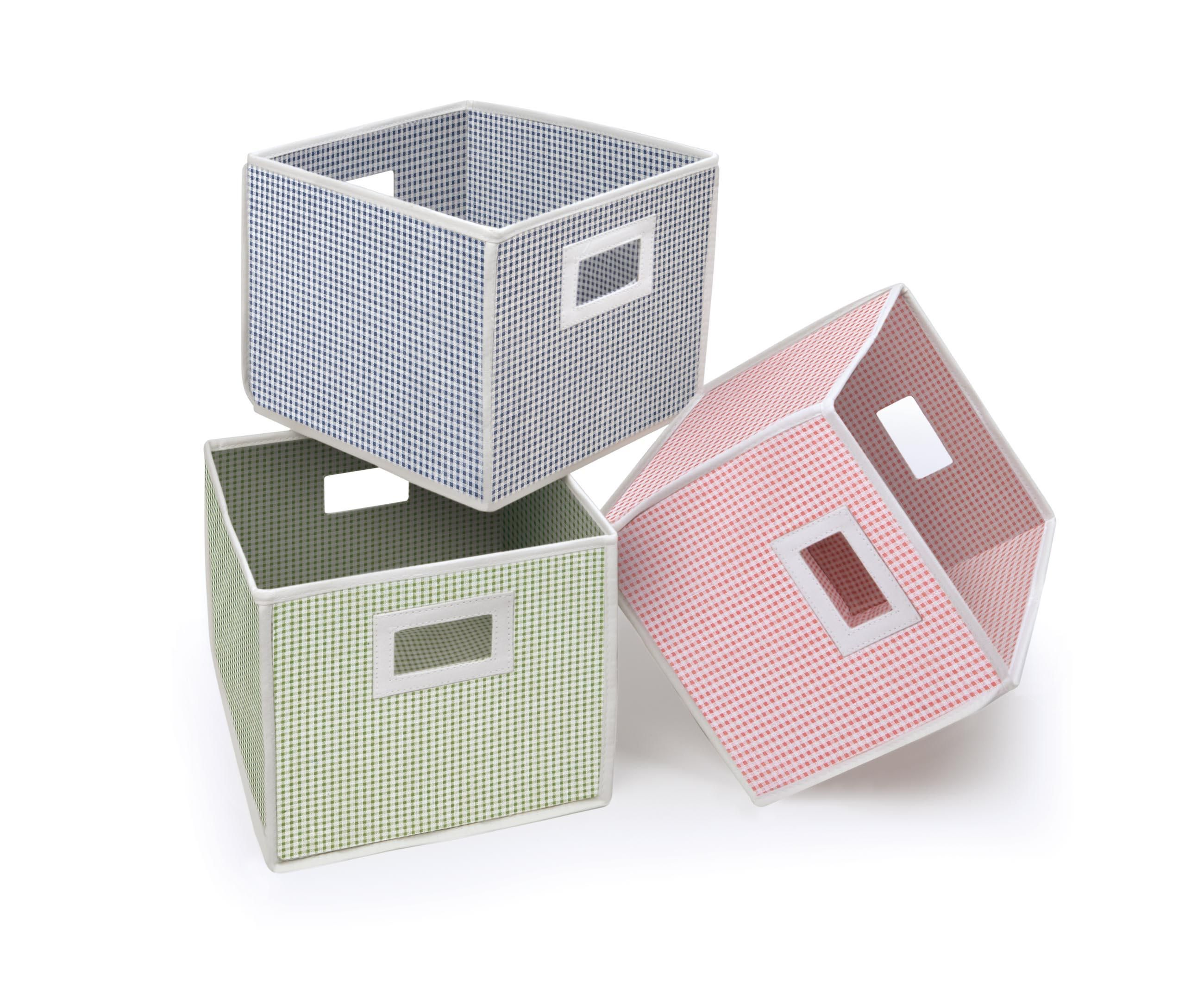 Charmant Adorable Furniture Storage Cubes With Baskets For Your Home Equipment Ideas  : Cool Assorted Colors For Storage Cubes With Baskets Equipped Cut Out  Handle ...