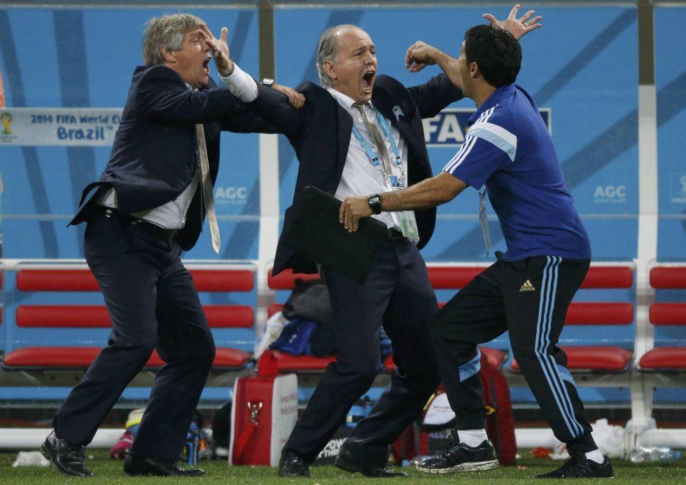 Fotos Argentina En La Final 24 Anos Despues Alejandro Sabella Mundial De Futbol Futbol Argentino