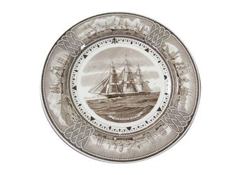 Wedgewood Etruria Souvenir Plates- Available at Brookline Village Antiques
