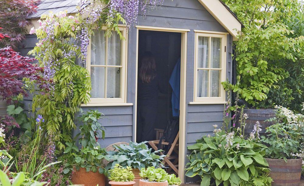 So Isolieren Sie Ihr Gartenhaus Gartenhaus Holzhutte Garten Holzhaus Garten