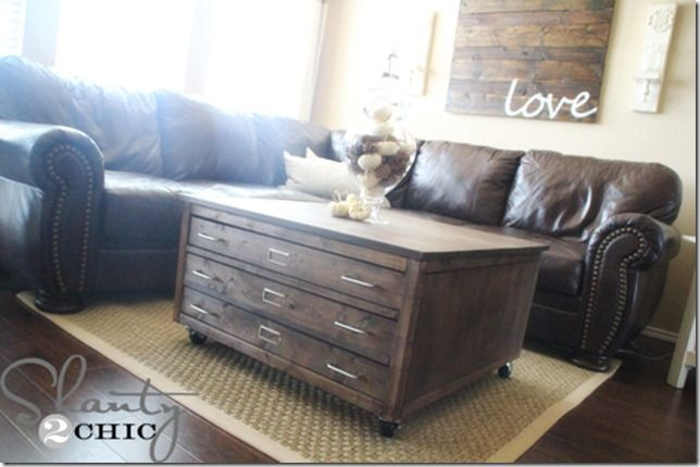 Delicieux Check Out My Awesome DIY Coffee Table On Wheels   Shanty 2 Chic. Pottery  Barn ...