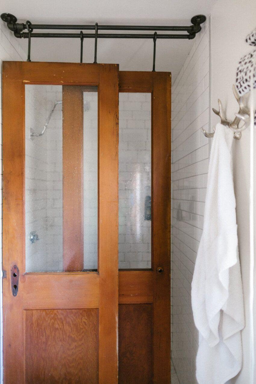 7 Unexpected Shower Doors To Transform Your Bathroom Diy