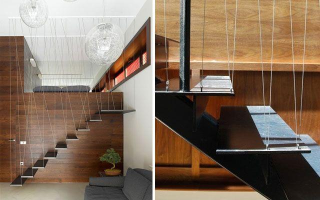Pasamanos modernos para escaleras de dise o arq - Pasamanos de escalera ...