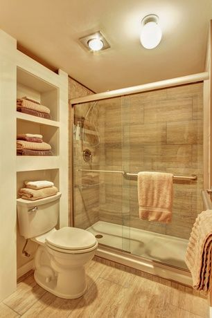 contemporary 34 bathroom with dulles glass and mirror sliding glass shower doors light hardwood - Light Hardwood Bathroom 2015