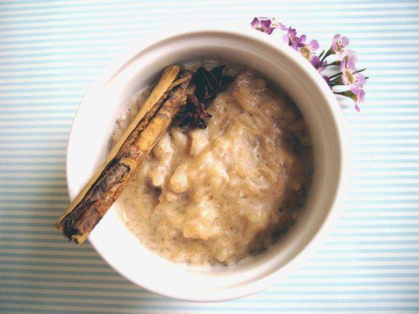 Dreamy Chai Rice Pudding