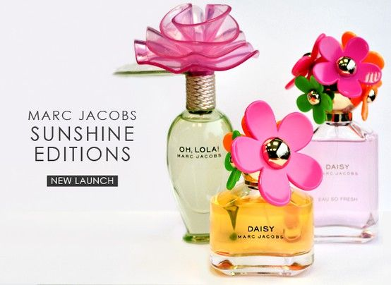 Looking for a new fragrance for the summer? Check out these limited version floral scents from Marc Jacobs.