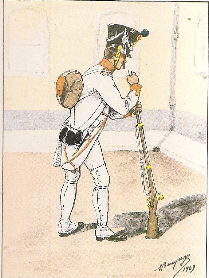 French; 28th Line Infantry, Fusilier, Grande Tenue, 1807