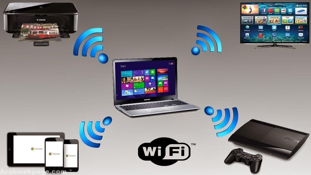 تحميل برنامج بث واي فاي من الكمبيوتر ويندوز 7 مع الشرح الصفحة العربية Hotspot Wifi Wifi Router Wifi