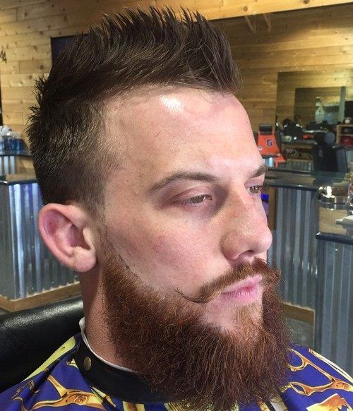 La parte superior del Faux Hawk Peinados para Hombres de 2017 Faux