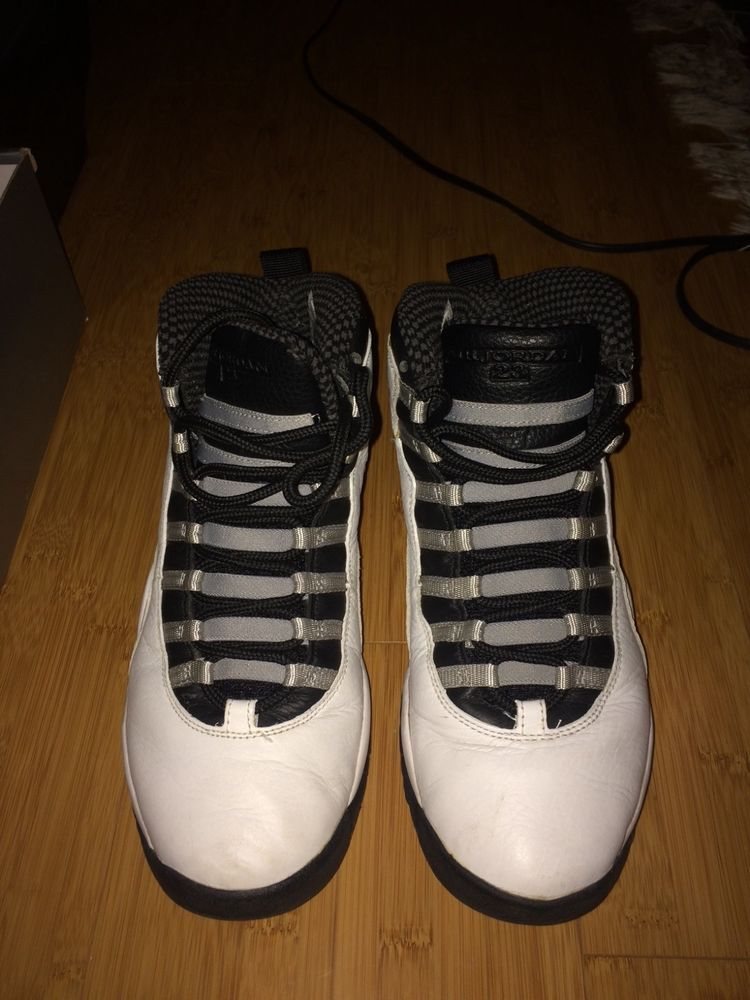 ad5a1c62c91 NIKE Air Jordan 10s in size 9 for men used and still in box #fashion # clothing #shoes #accessories #mensshoes #athleticshoes (ebay link)