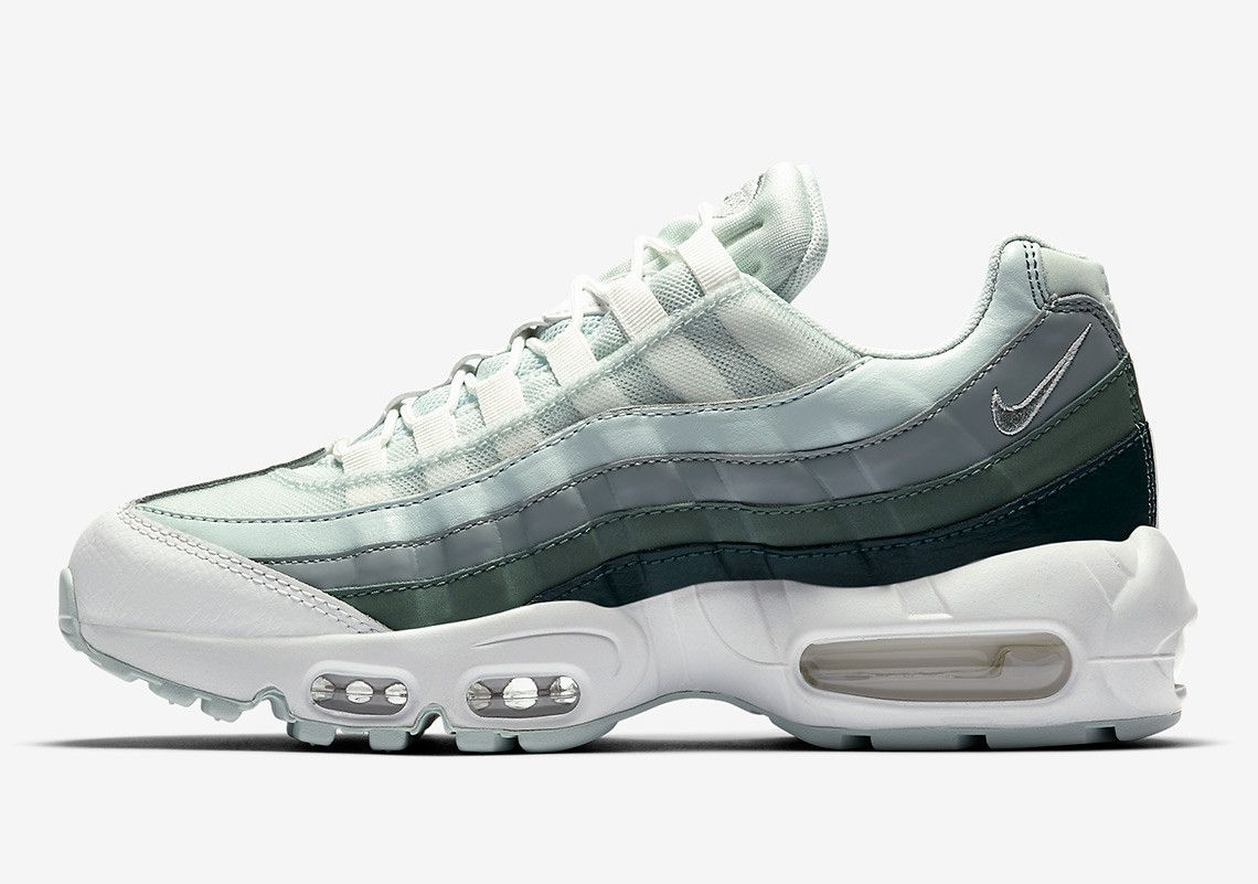 the best attitude f4fff 125cd Nike Introduces A Green Gradient On The Air Max 95