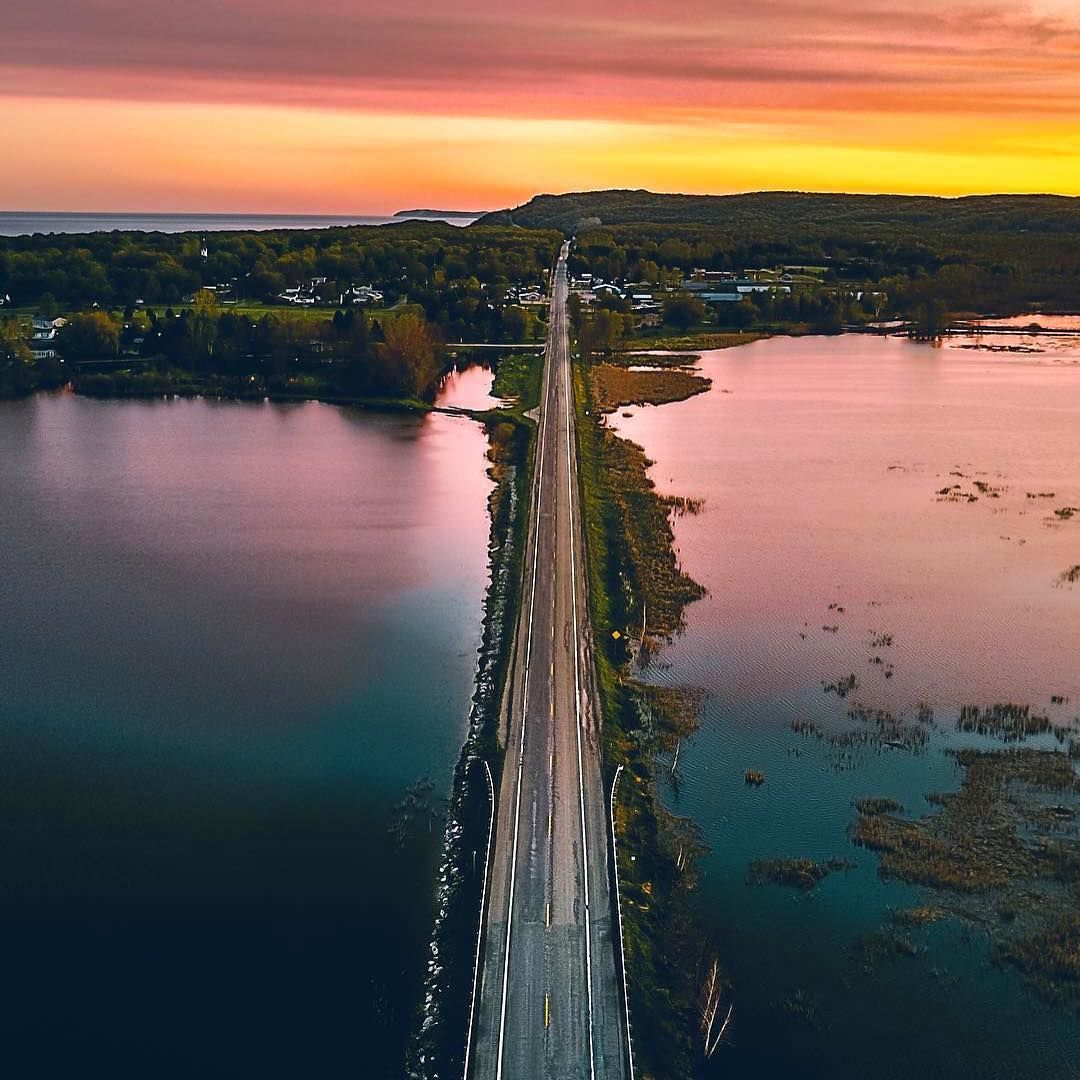 "15.3k Likes, 95 Comments - Pure Michigan (@puremichigan) on Instagram: ""Hodophile (adj.): Greek for ""lover of roads"" or better, ""love of travel"". What are some of your…"""