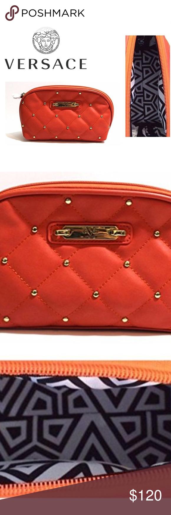 Versace Womens Makeup Bag 19.69 abbigliamento Womens Makeup Bag Versace  19.69 abbigliamento sportivo srl Bag Depth de8417ef6d462