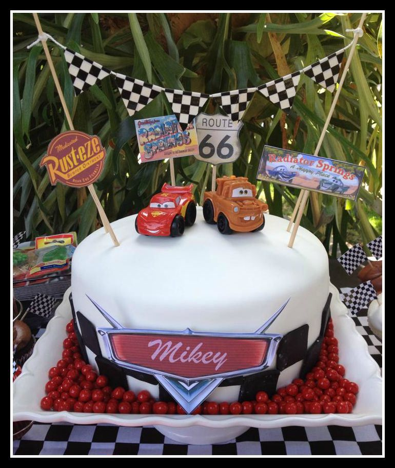 Disney Cars Cake Simple Cakes On Www Ismycrazyshowing Com